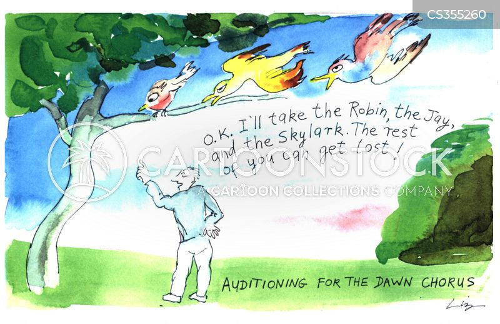 choruses cartoon