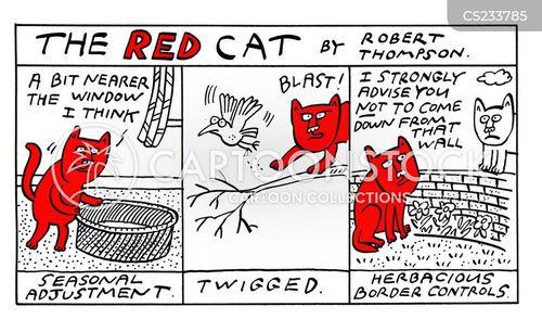 cat basket cartoon