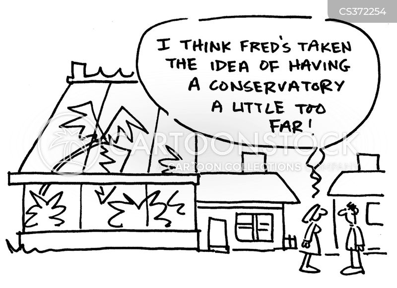green-house cartoon
