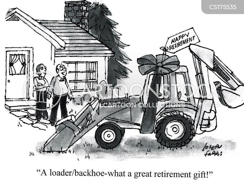 Retirement Gifts Cartoon 1 Of 31