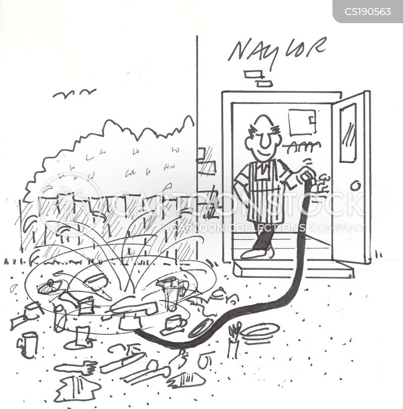 sprinklers cartoon