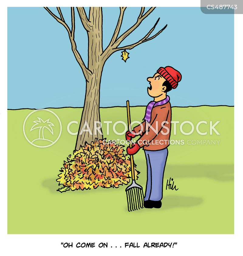 Fall Season Cartoons And Comics Funny Pictures From Cartoonstock