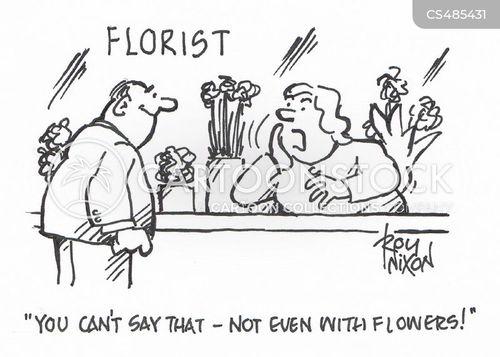 blooms cartoon