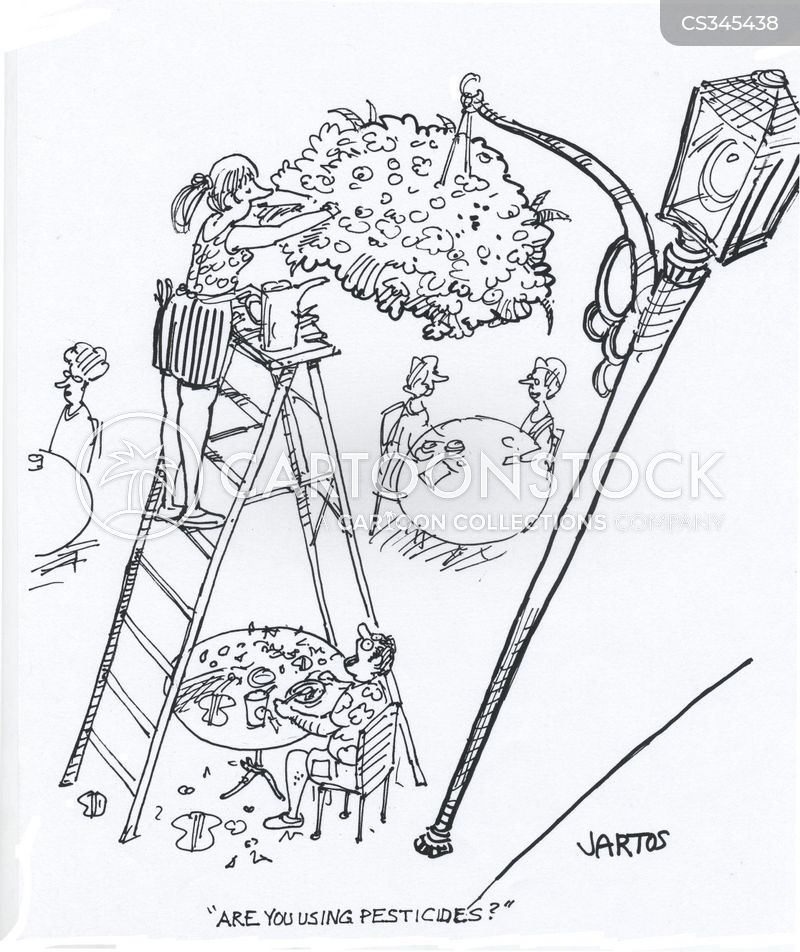 hanging gardens cartoon