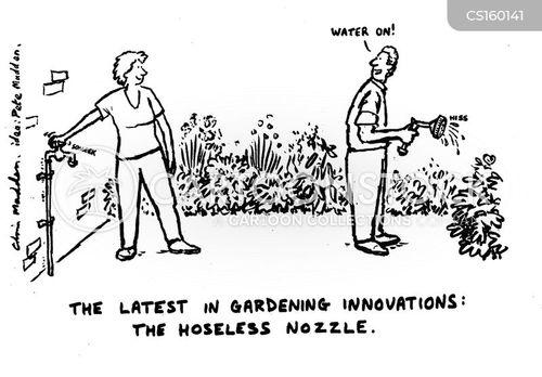 gardened cartoon
