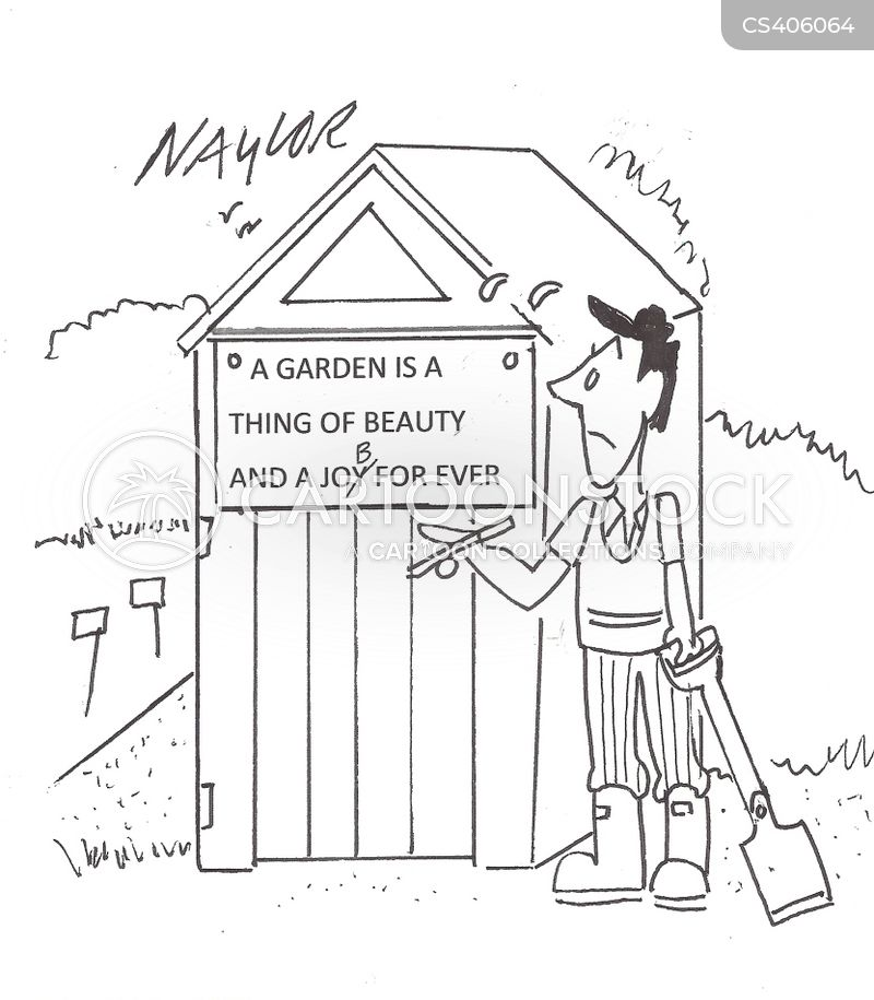 Garden Shed Cartoons and Comics - funny pictures from ...