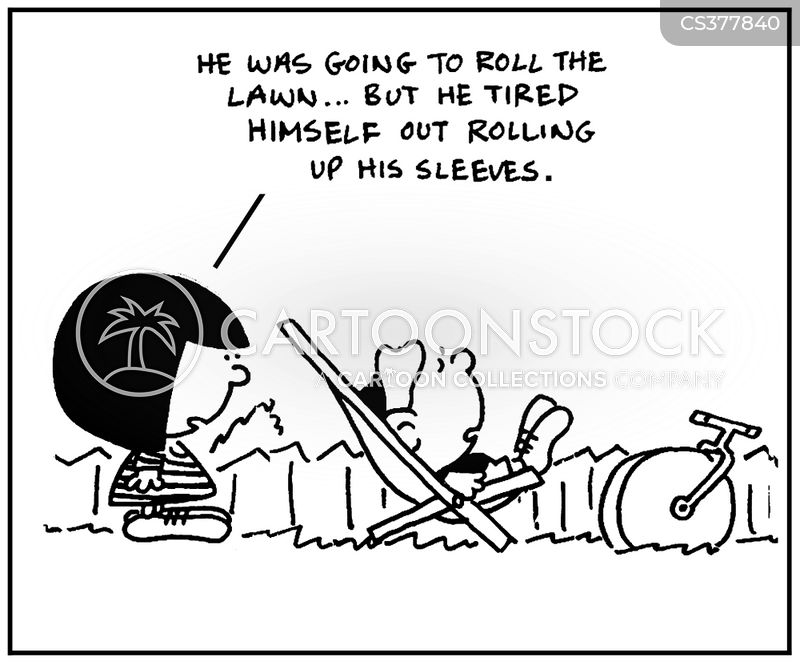 roller cartoon