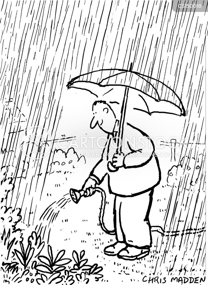 damp cartoon