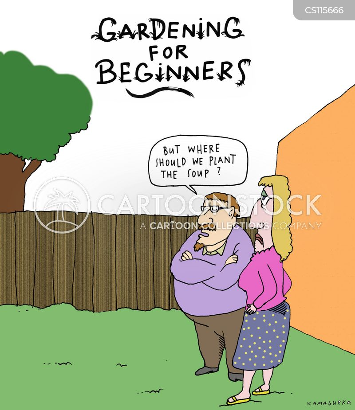 Kitchen Gardener Cartoons And Comics Funny Pictures From Cartoonstock