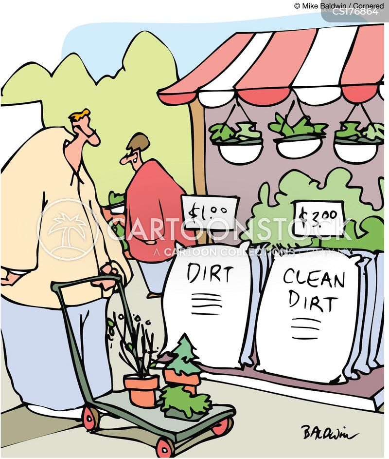 clean dirt cartoons and comics funny pictures from cartoonstock