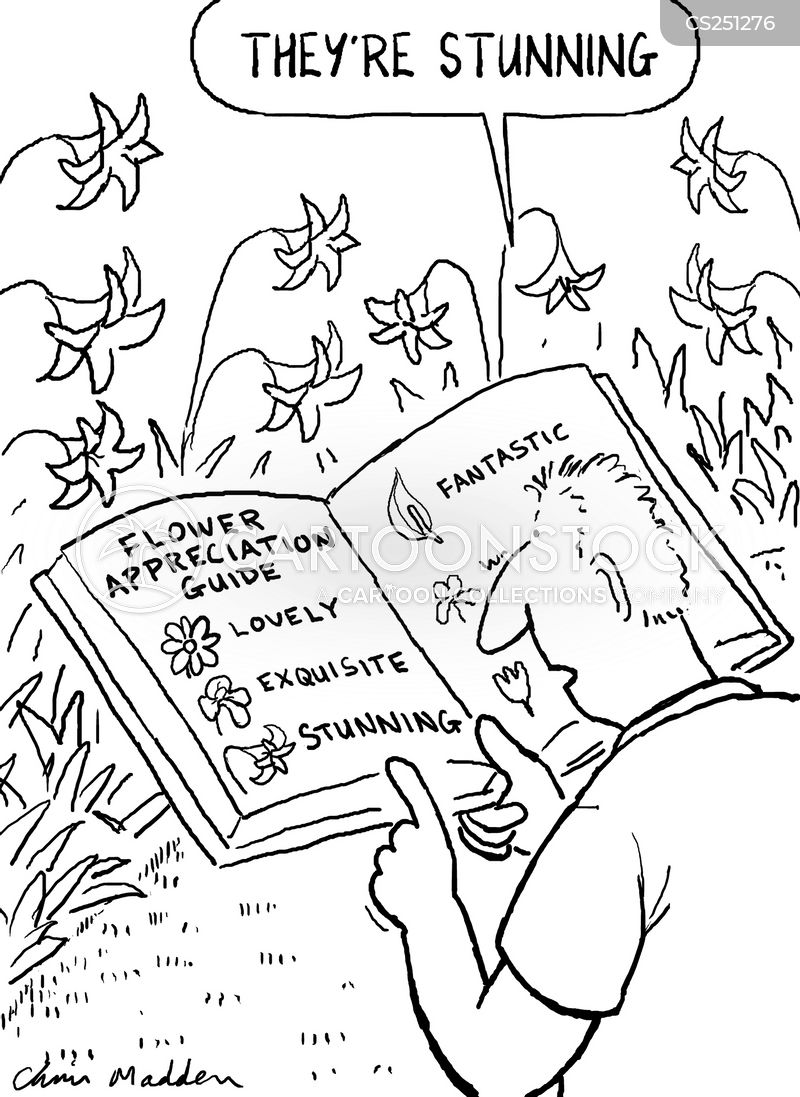 flower guides cartoon