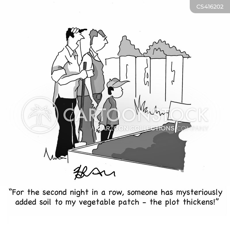 vegetable patches cartoon