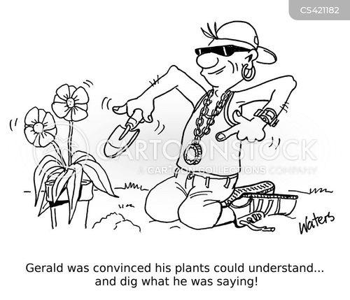 gardening skill cartoon