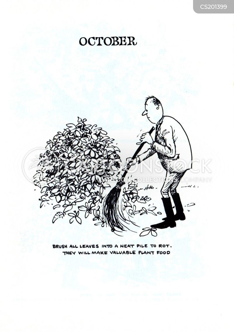 garden tips cartoon
