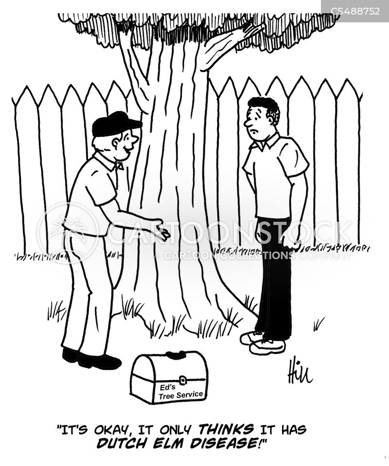 dutch elm disease cartoon