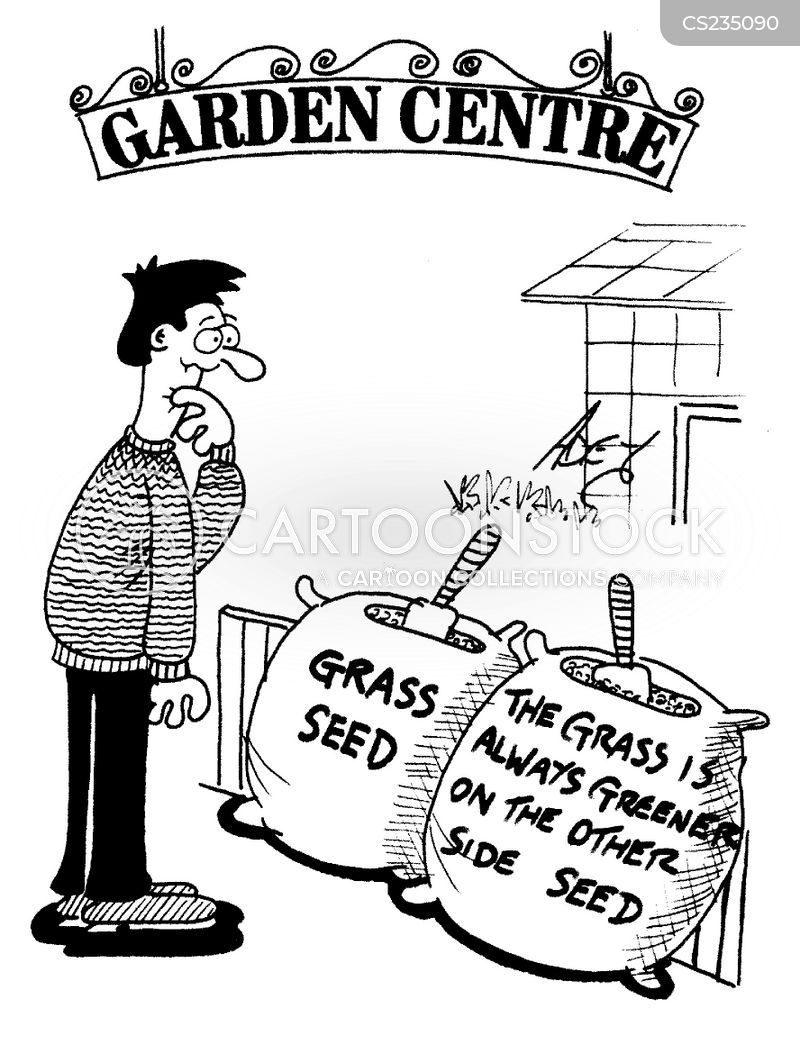 Grass Seeds Cartoons And Comics Funny Pictures From Cartoonstock