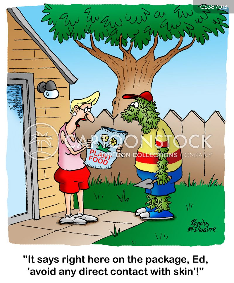 Plant Food Cartoons and Comics - funny pictures from CartoonStock