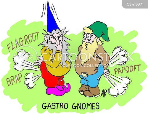 garden gnomes cartoon