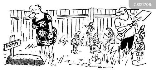 dopey cartoon