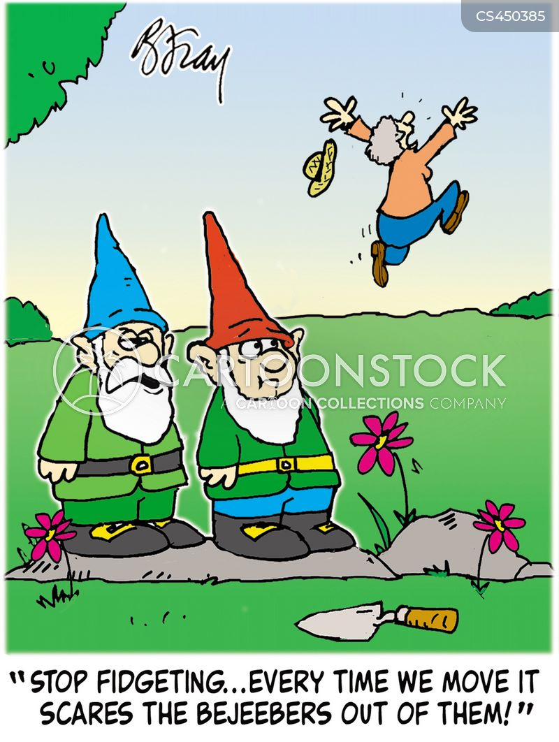 Garden Gnomes Cartoons and Comics , funny pictures from