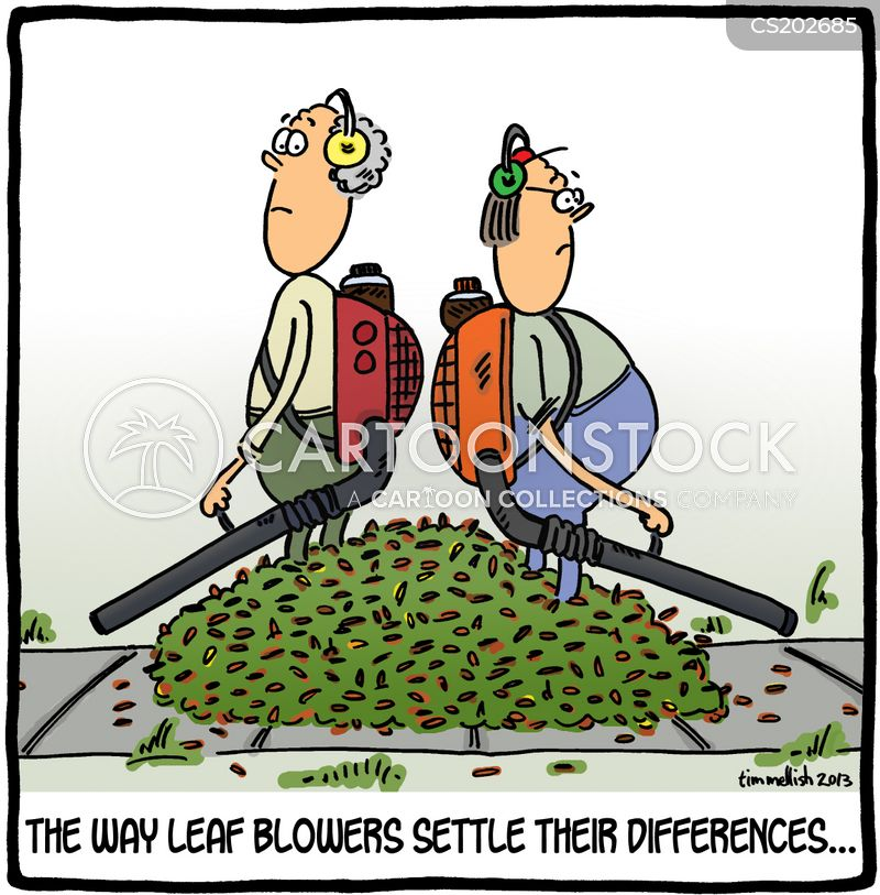 settling differences cartoon