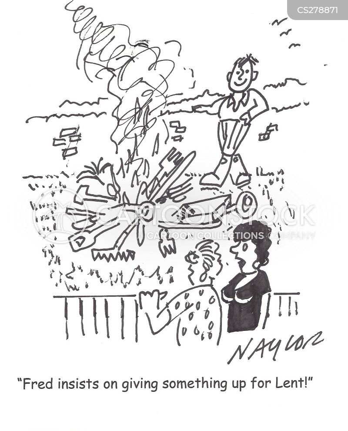 religious observance cartoon