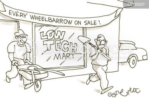 mart cartoon