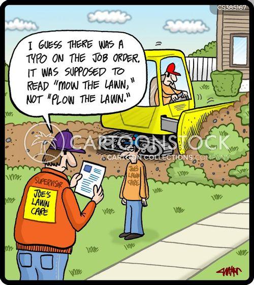 ploughs cartoon