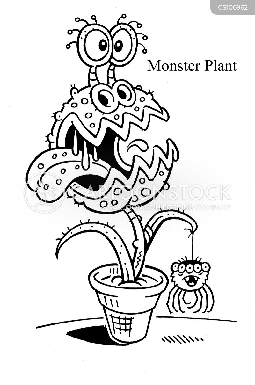 indoor plant cartoon