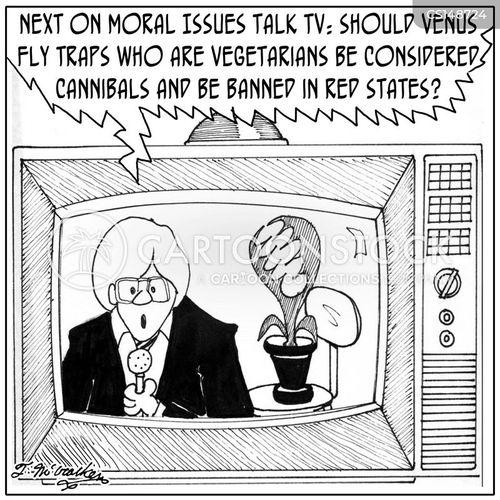 talk tv cartoon