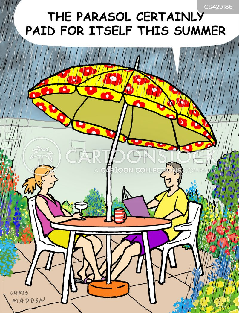 Patio Furniture Cartoon 1 Of 2