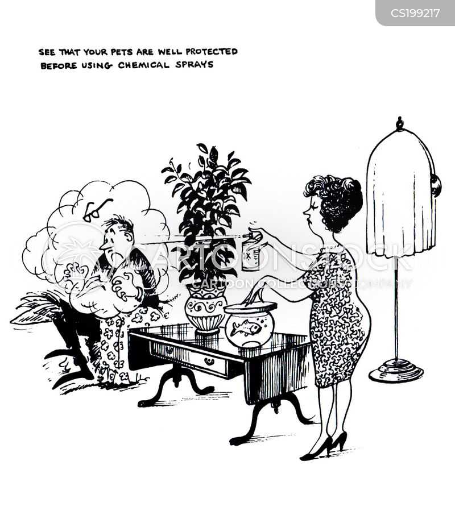 pesticide cartoon