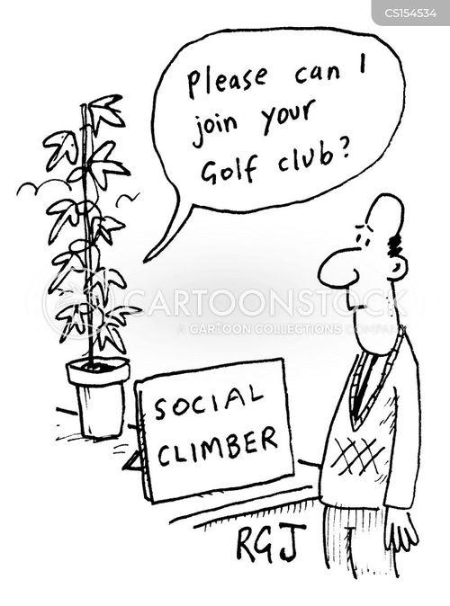socialite cartoon