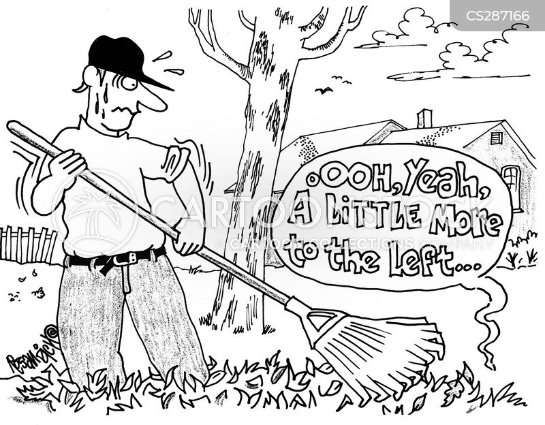 back scratcher cartoon