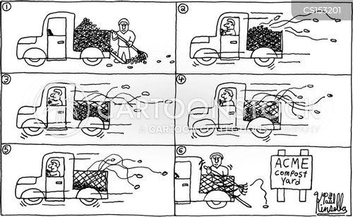 compost heap cartoon