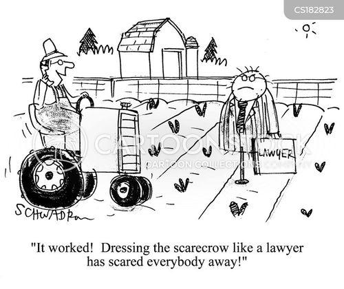 scarecrows cartoon