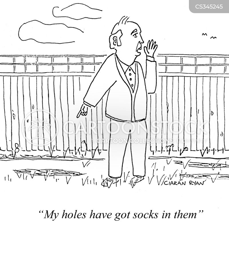 darning cartoon