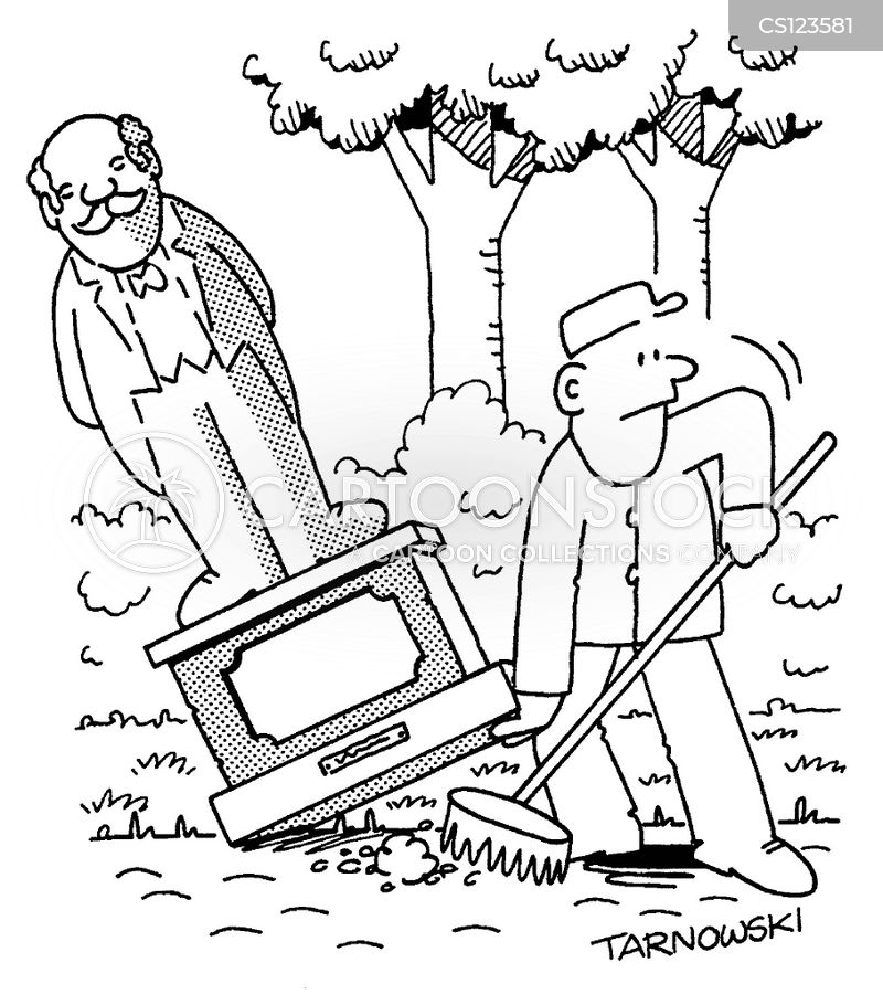 park cleaners cartoon