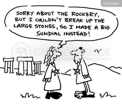 rockery cartoon