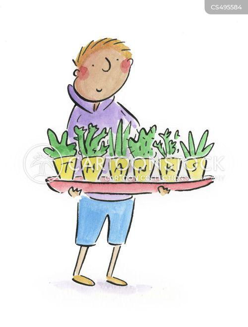 kew gardens cartoon