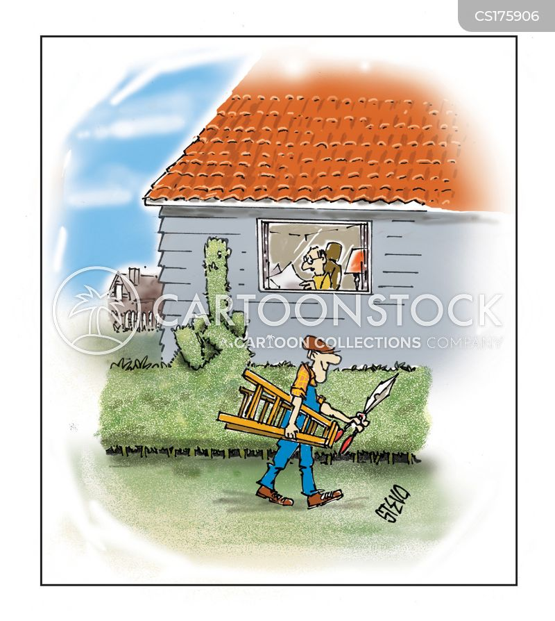 handyman cartoon