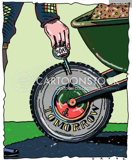 upkeep cartoon