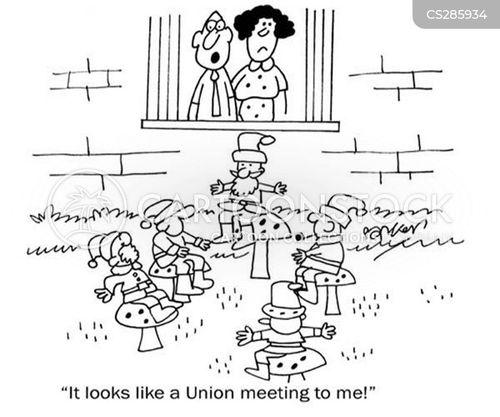 get togethers cartoon