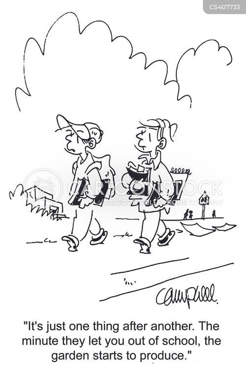 vacation plans cartoon