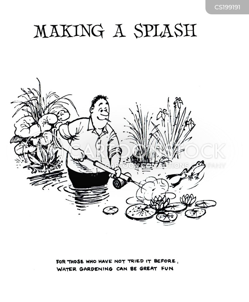gardening tip cartoon