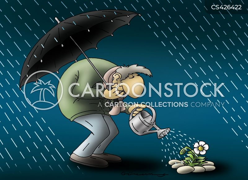 rainshowers cartoon