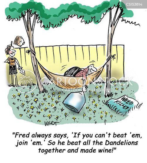 dandelions cartoon