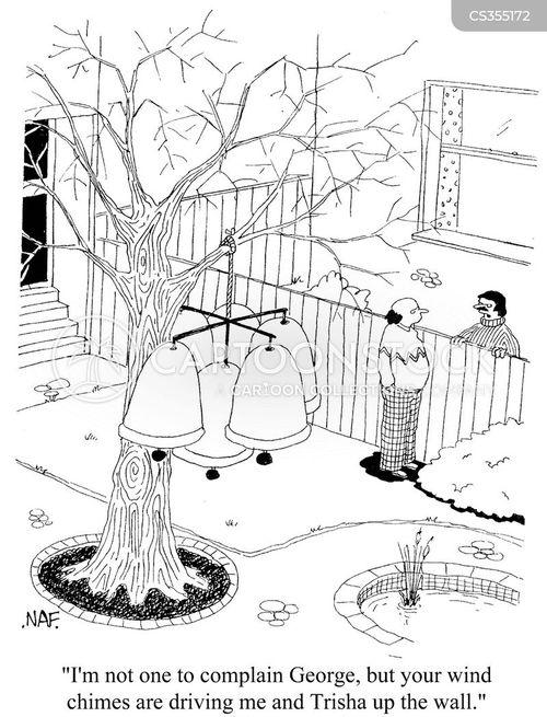garden ornaments cartoon
