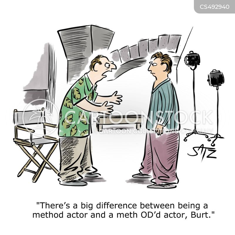 method actors cartoon