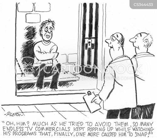 psych ward cartoon